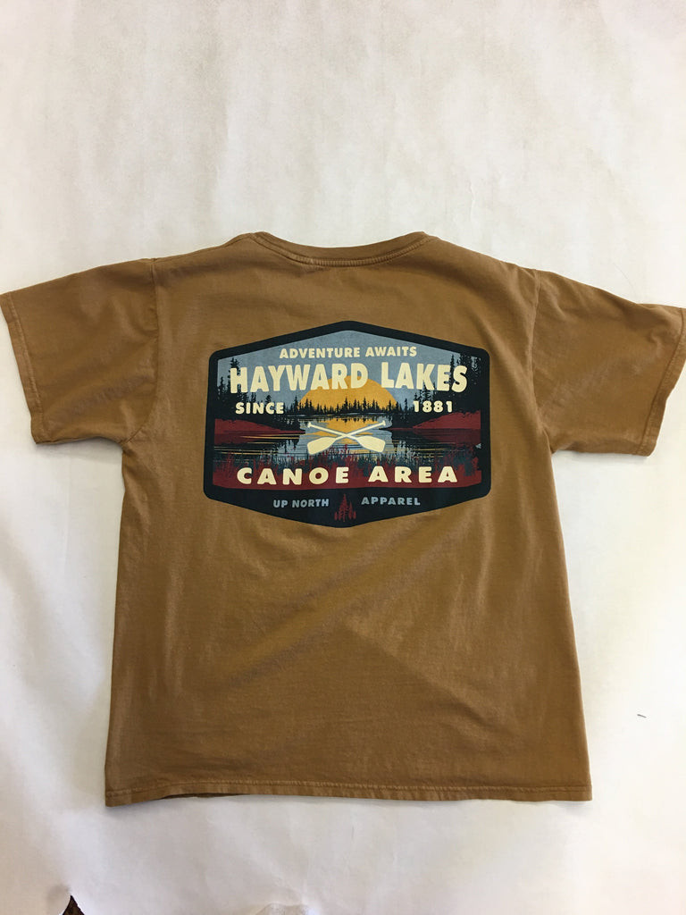 Hayward Lakes Canoe Area S/S T-Shirt