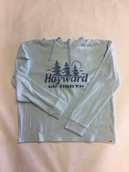 Hayward Feeling Free Pines L/S Hooded Shirt