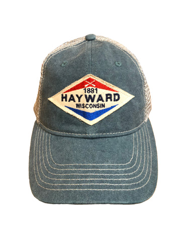 Crossed Paddles Hayward trucker hat