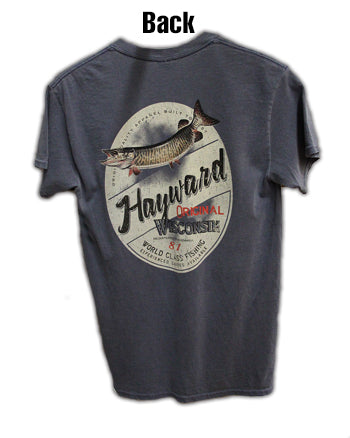 Musky/Hayward Short Sleeved Tee