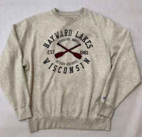 Hayward WI Lakes Sweatshirt