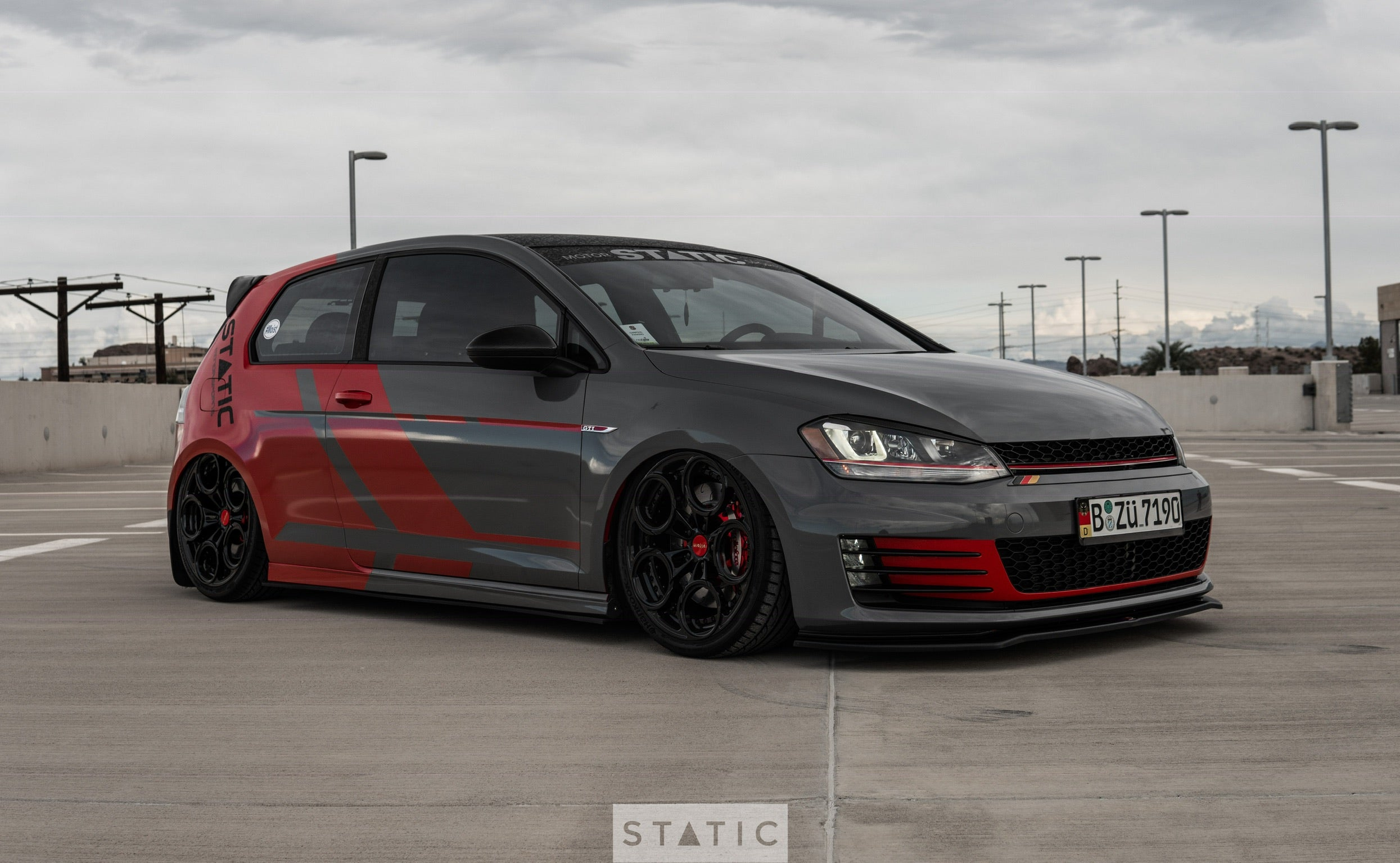 Air Lift Performance on volkswagen gti