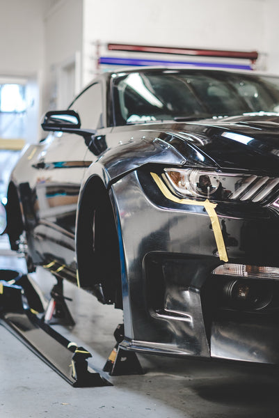 Ford Mustang S550 Clinched Widebody Kit