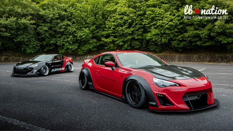 LB ☆ NATION WORKS Toyota 86 / Subaru BRZ Complete Body Kit