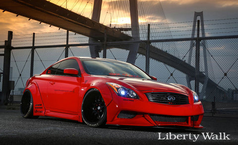 LB ☆ NATION WORKS Infiniti G37 Complete Body Kit