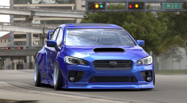 2011 subaru wrx sti wide body kit