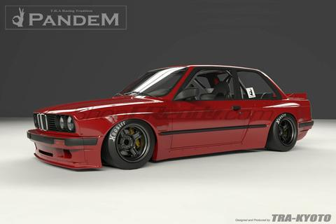 Pandem BMW 3 Series (E30)