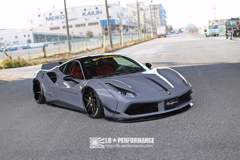 LB ☆ WORKS Ferrari 488 Complete Body Kit