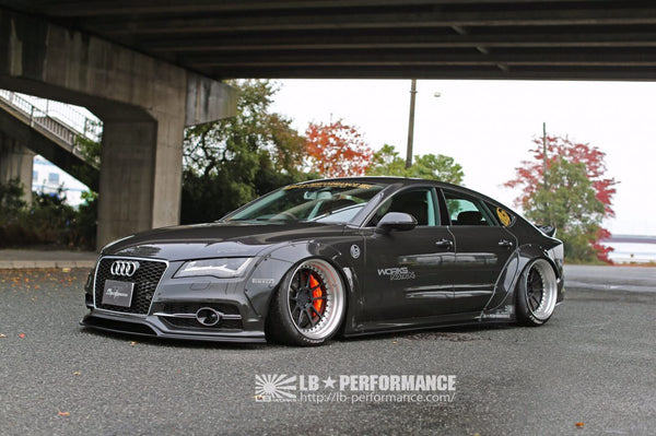 LB ☆ WORKS Audi A7 / S7 Complete Body Kit