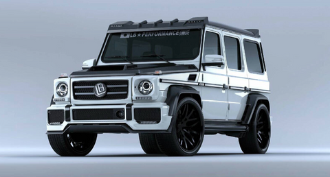LB ☆ WORKS Mercedes-Benz G63 (2012+) Complete Body Kit