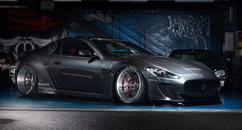 LB ☆ WORKS Maserati GranTurismo Complete Body Kit