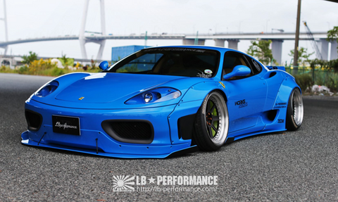 LB ☆ WORKS Ferrari 360 Complete Body Kit