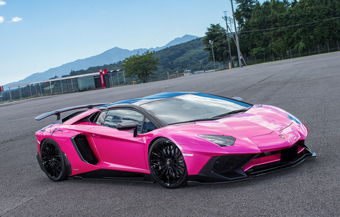LB ☆ PERFORMANCE Lamborghini Aventador SV Complete Body Kit