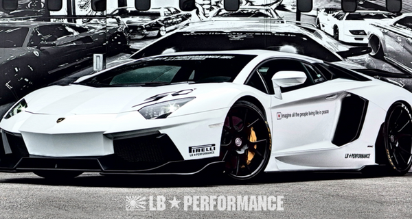 LB ☆ PERFORMANCE Lamborghini Aventador Complete Body Kit