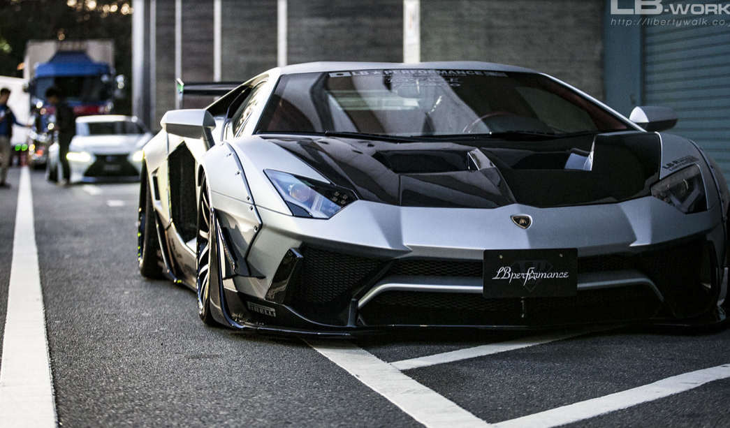 Lb Works Lamborghini Aventador Limited Edition Complete Body