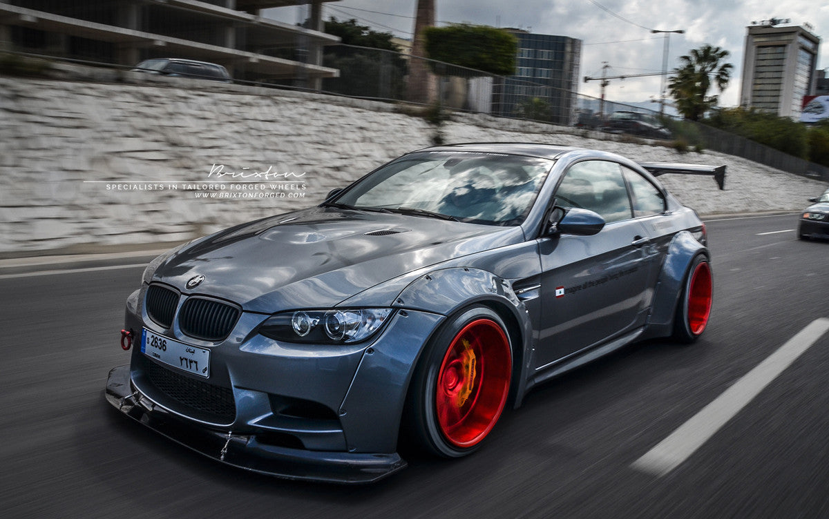 Lb ☆ Works Bmw M3 E92 V1 Complete Body Kit Static Motorsports