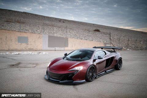 LB ☆ WORKS McLaren MP4-12c Complete Body Kit