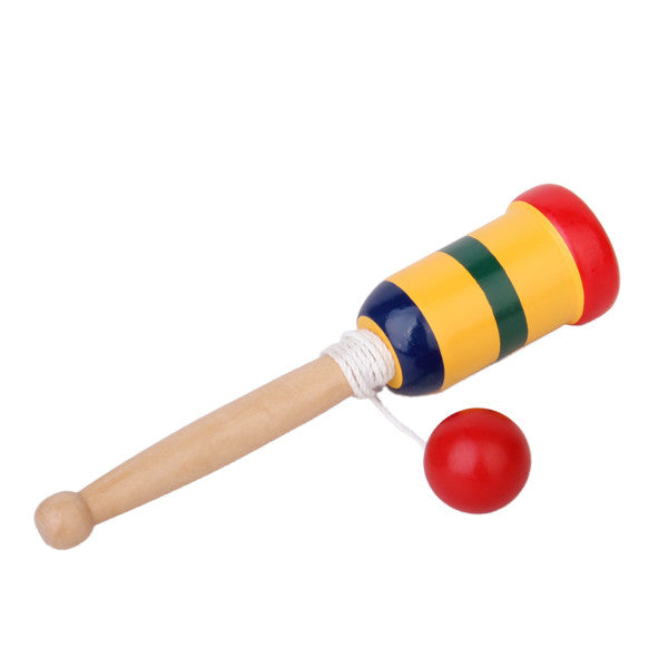 Magideal Japanese Wooden Toy Kendama Cup And Ball