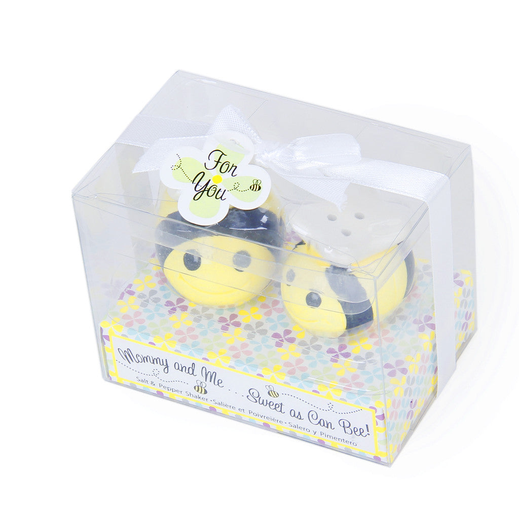 MagiDeal Ceramic Bee Salt & Pepper Shakers Wedding Favors - MagiDeal