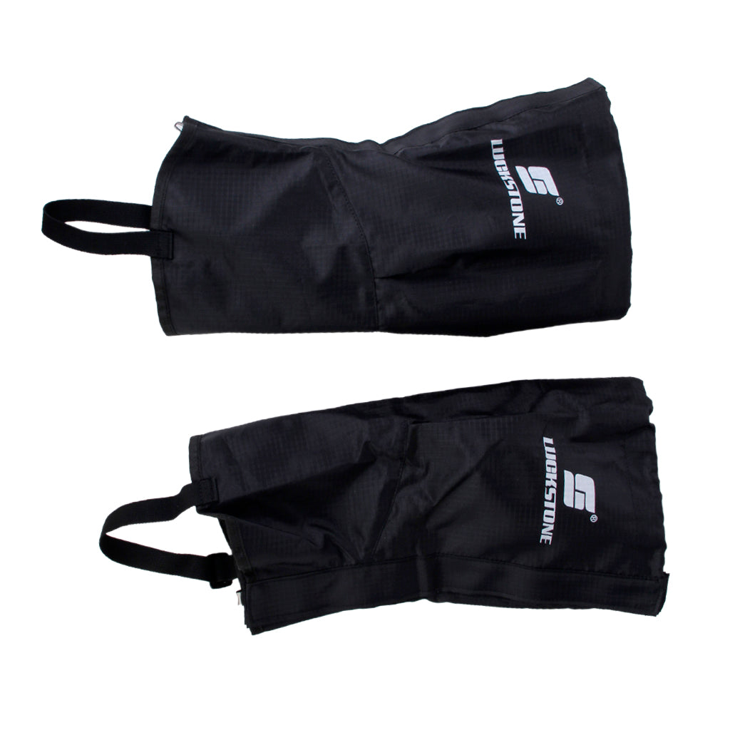 MagiDeal 1 Pair Black Waterproof Hiking Climbing Snow Legging Gaiters Leg Covers - Small Size - MagiDeal