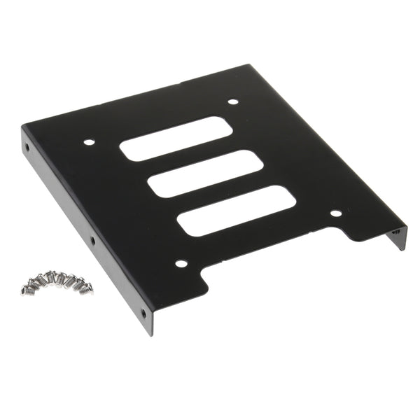"MagiDeal 2.5"" SSD HDD To 3.5"" Metal Mounting Adapter Bracket Dock Hard Drive Holder For PC"