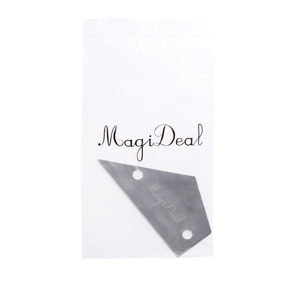 MagiDeal Fret Rocker Stainless Steel Guitar Luthier Tool