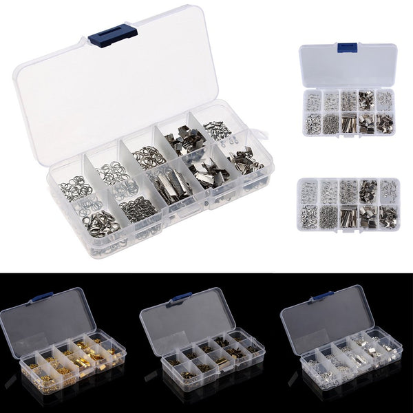MagiDealJewelry Making Starter Kits Bracelet Necklace Jewelry Finding Silver