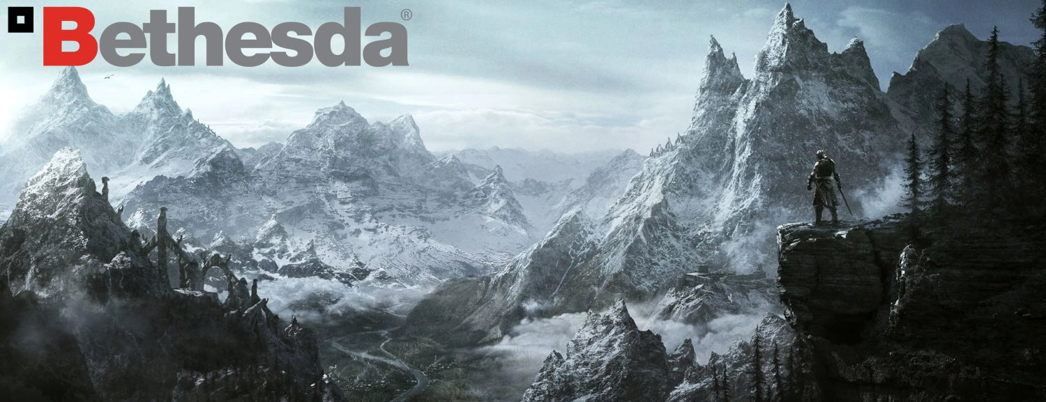 Bethesda Softworks has brought us the ultimate in open-world RPG Gaming, such as The Elder Scrolls V: Skyrim and Fallout 76.