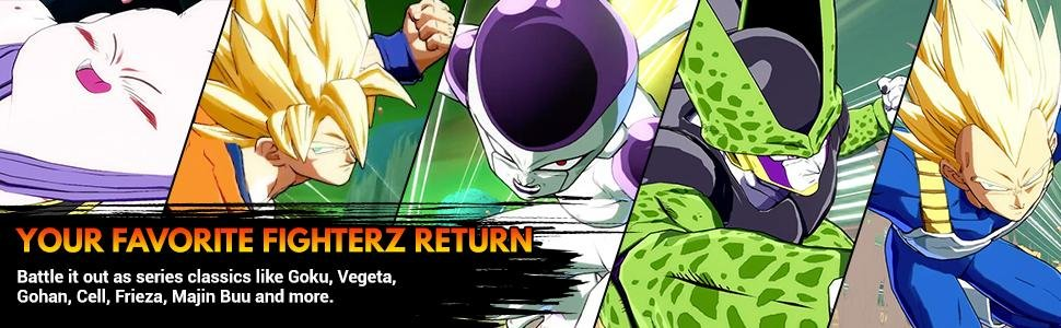 Dragon Ball FighterZ - Your Favorite FighterZ Return