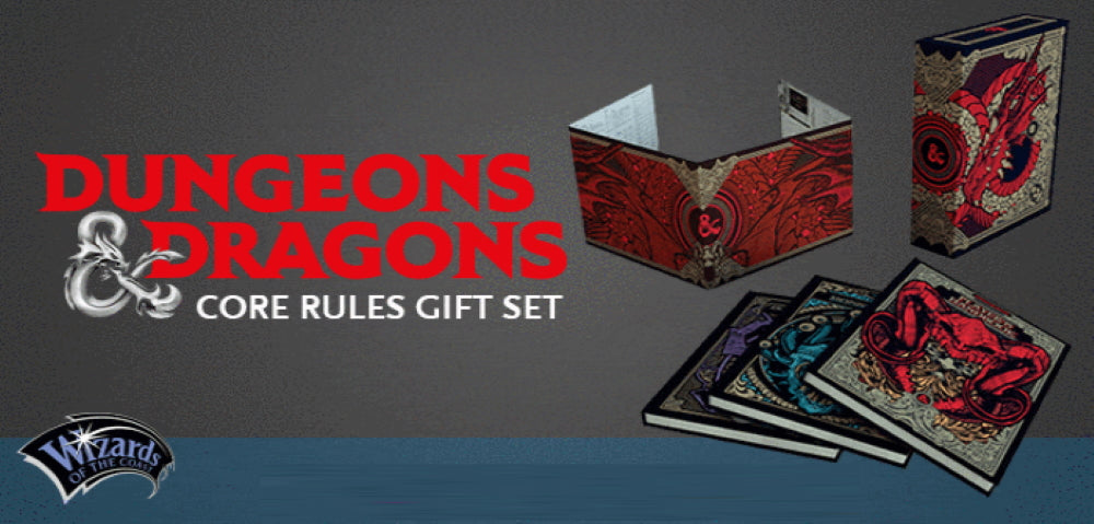 Core Rulebook Gift Set Limited Alternate Covers Dungeons and ...