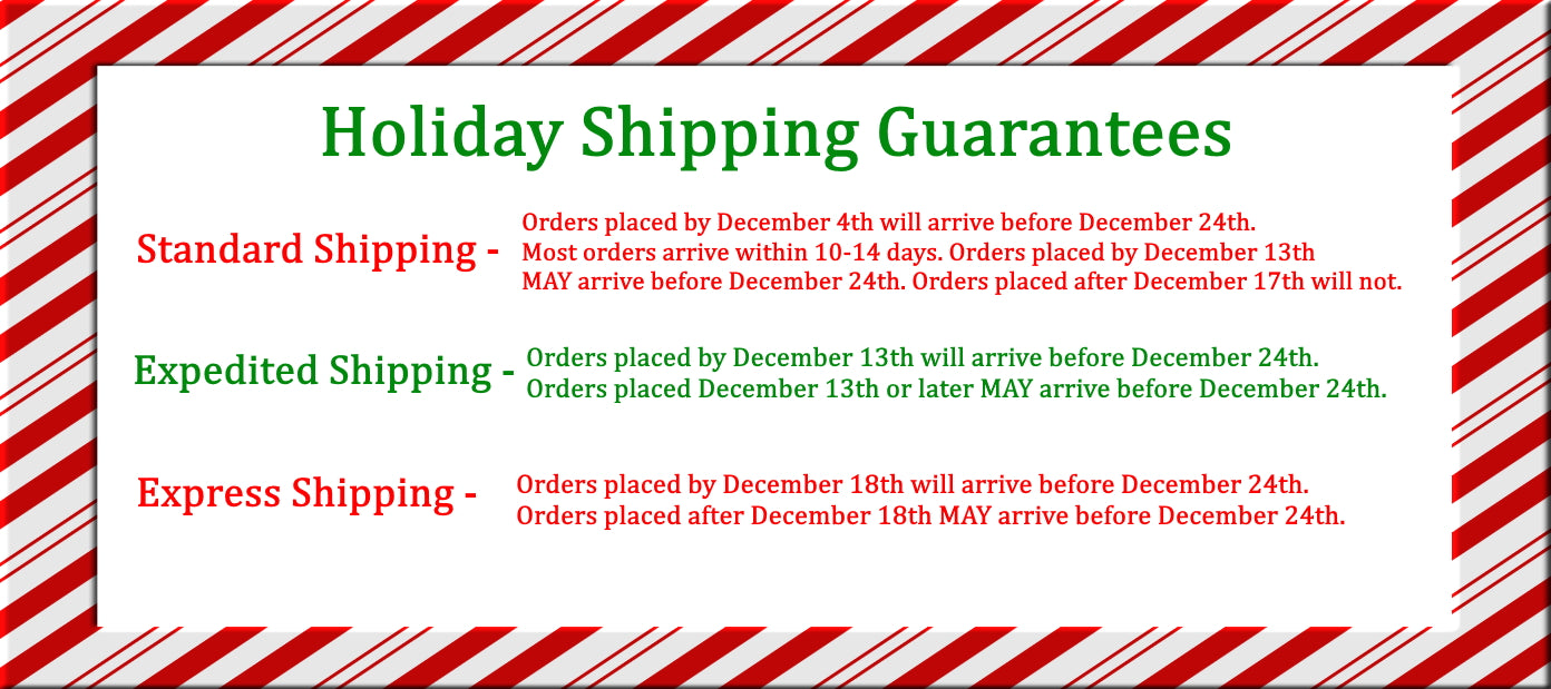 Holiday Shipping Guide 2019