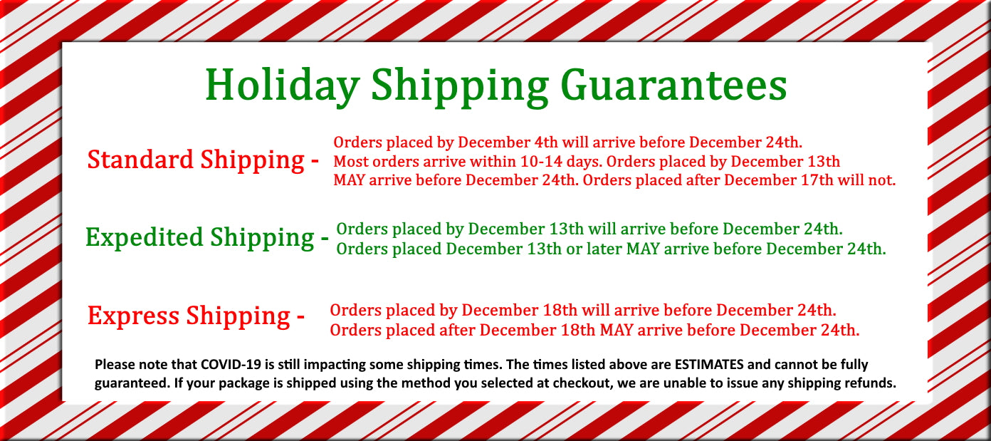 2020 Holiday Shipping Guide