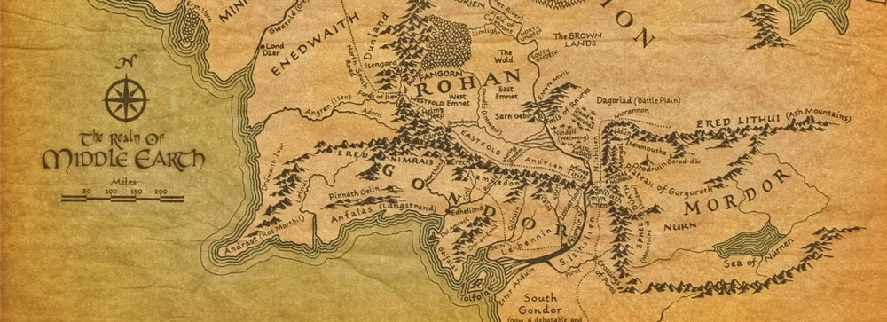 J.R.R Tolkien's Middle Earth Collection