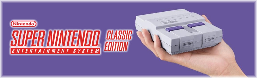 Super Nintendo Entertainment System SNES Classic Mini Edition