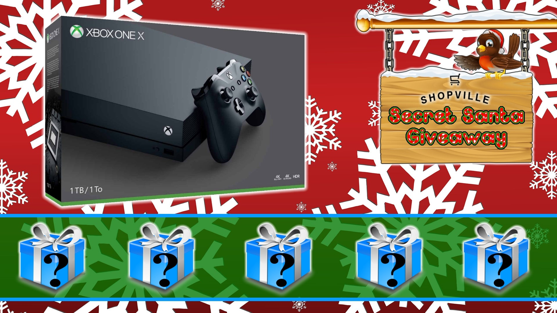 Xbox One X + Secret Santa Giveaway