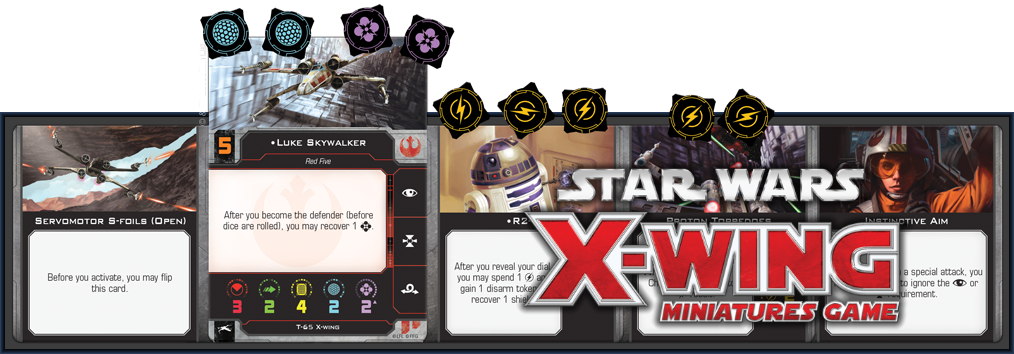 Star Wars X-Wing: The Force Awakens Core Set Miniatures Game - 2nd Edition