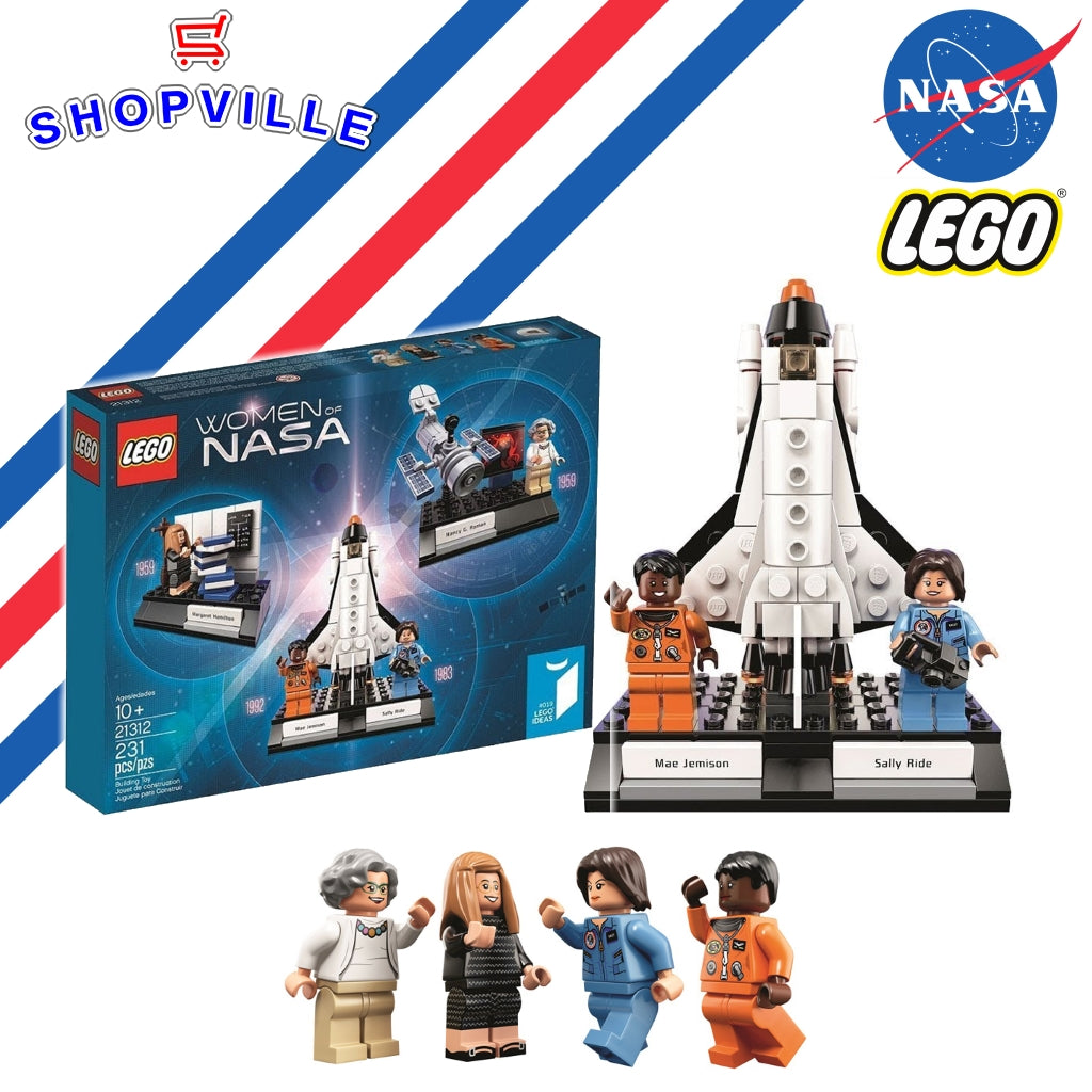 LEGO Ideas Women of NASA 231 Piece Building Kit Giveaway