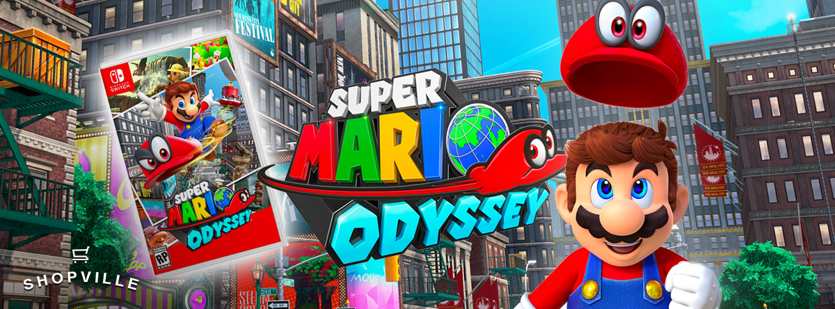 Super Mario Odyssey Giveaway Contest