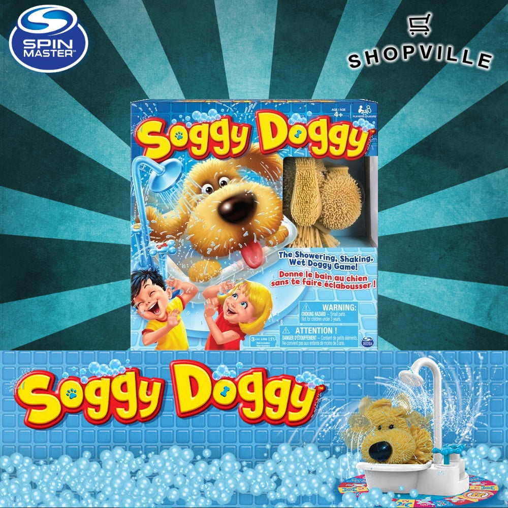 Soggy Doggy Board Game Giveaway