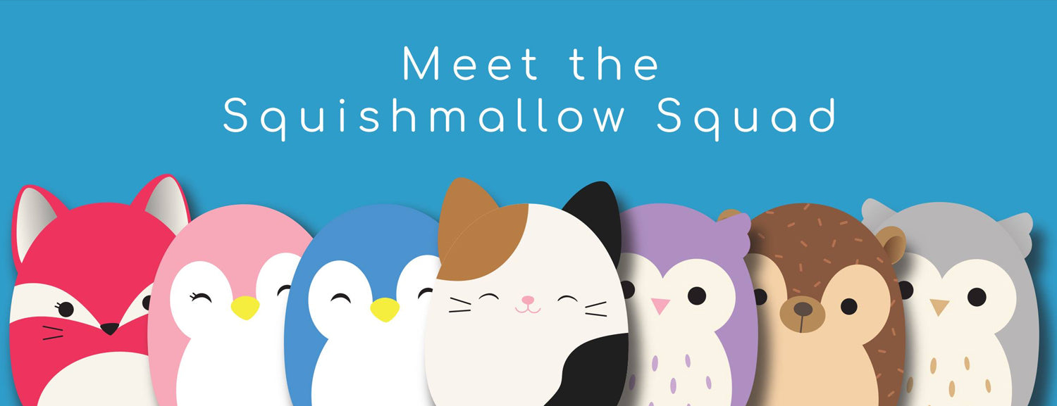 Squishy SquooShems Squishmallows Collection