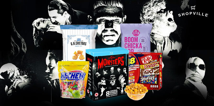 Spooktacular Halloween Movie Night Prize Package Giveaway