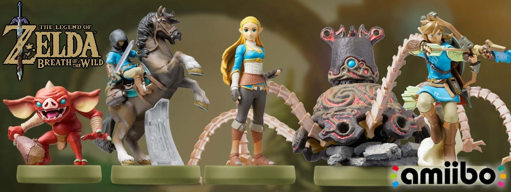 The Legend of Zelda: Breath of The Wild Series - Zelda Amiibo