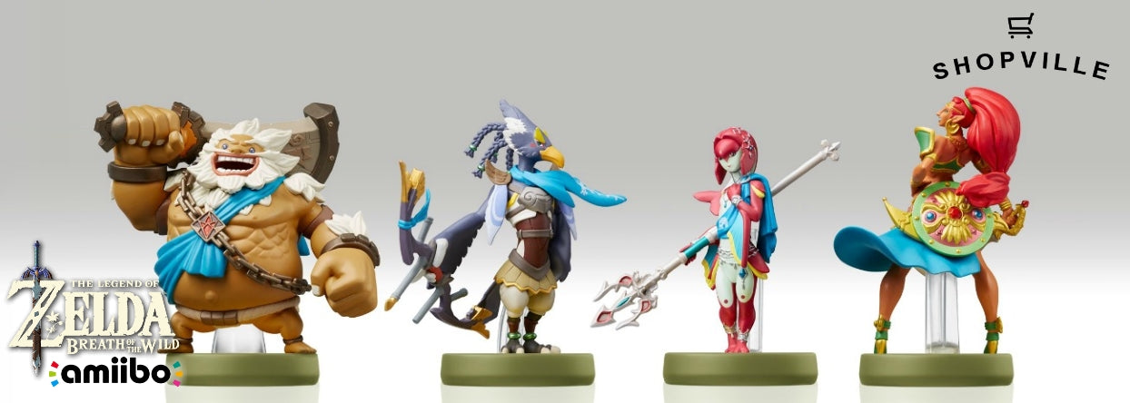 The Legend of Zelda: Breath of the wild Champions Series 4-Pack