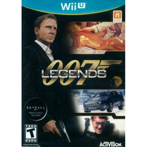 007 Legends [Nintendo Wii U]
