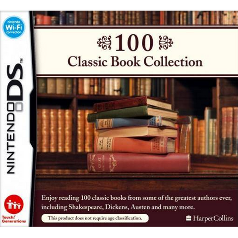 100 Classic Book Collection [Nintendo DS DSi]