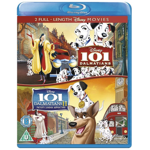 Disney's 101 Dalmatians and 101 Dalmatians II: Patch's London Adventure [Blu-Ray 2-Movie Collection]