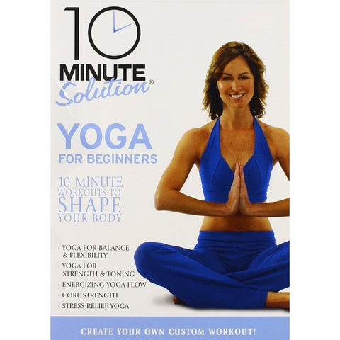 10 Minute Solution: Yoga For Beginners [DVD]