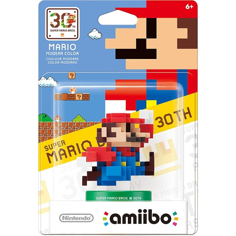 30th Anniversary Mario - Modern Color Amiibo - 30th Anniversary Mario Series [Nintendo Accessory]