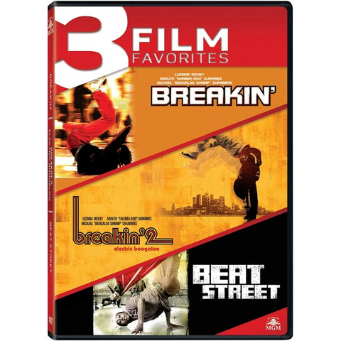 3 Film Favorites: Breakin' / Breakin' 2: Electric Boogaloo / Beat Street [DVD Collection]
