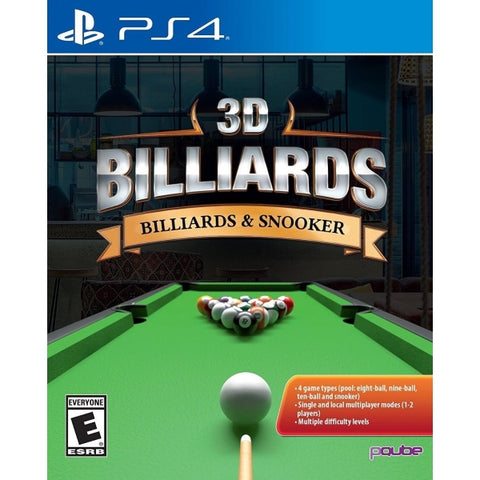 3D Billiards: Billiards & Snooker [PlayStation 4]